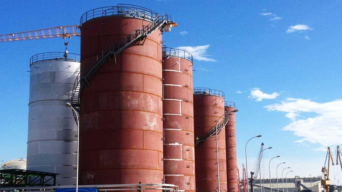 MONTEX Montajes Industriales y Soldadura - Soldadura de Tanques y cisternas