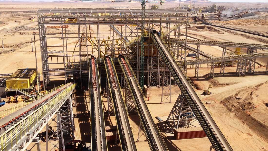 MONTEX Montajes Industriales y Soldadura - Montaje y soldadura de estructura metálica pesada y montaje Transportadores Mina