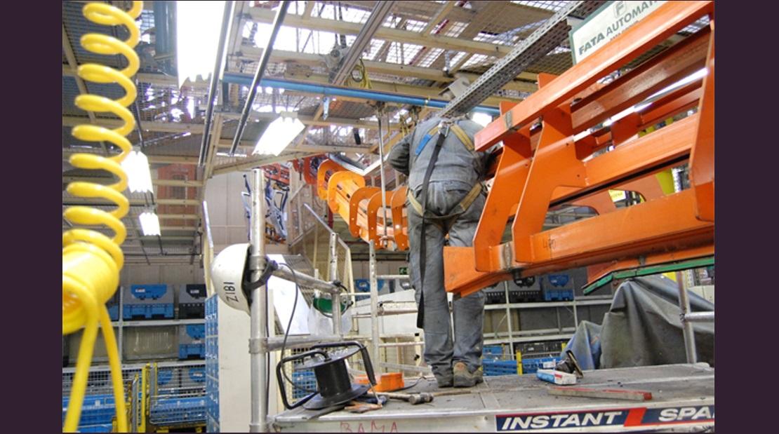 MONTEX Montajes Industriales y Soldadura - Montaje Transportador Aereo Transportador de cadena Electrovía