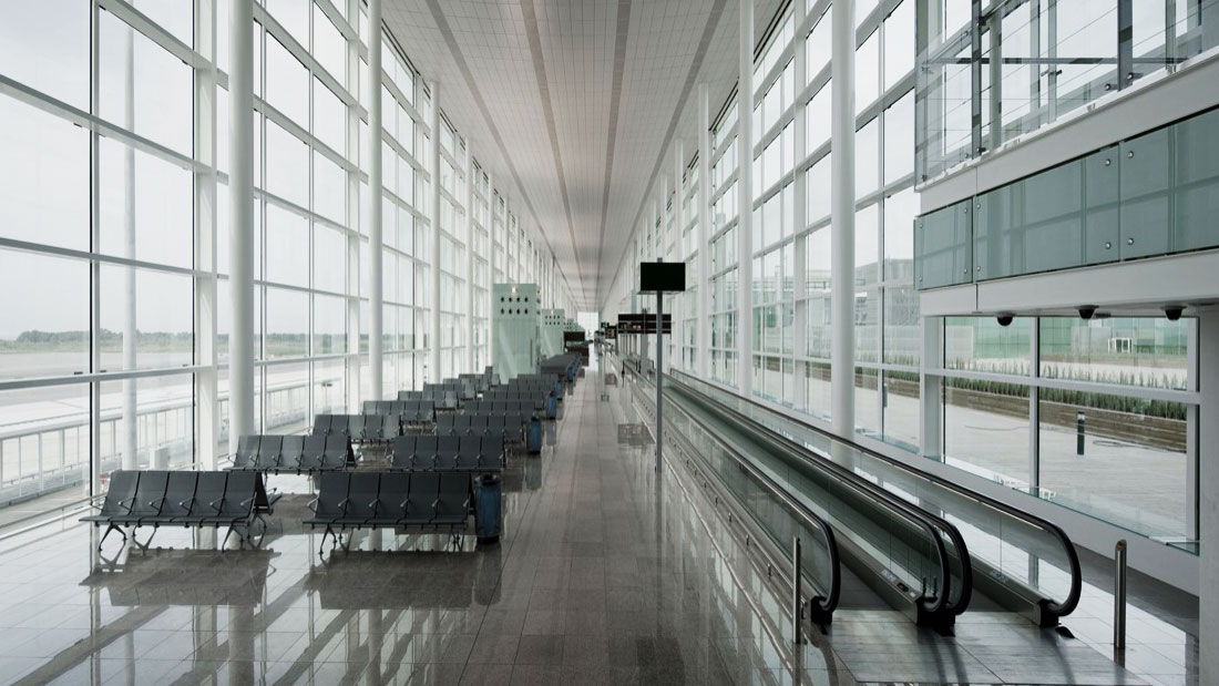 MONTEX Montajes Industrialesy Soldadura - montaje Fachada Muro Cortina Vidrio Aeropuerto