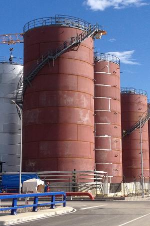 MONTEX Fabricación Depósitos, equipos a presión, cisternas Soldadura de Depositos, equipos a presión, cisternas Montaje y Soldadura Estructuras Industriales Singulares